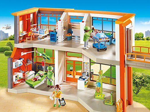 Amazon De Playmobil 6657 Kinderklinik Mit Einrichtung Playmobil Pferde Playmobil Polizei Playmobil Reiterhof Playmo Kinderklinik Playmobil Playmobil Kinder