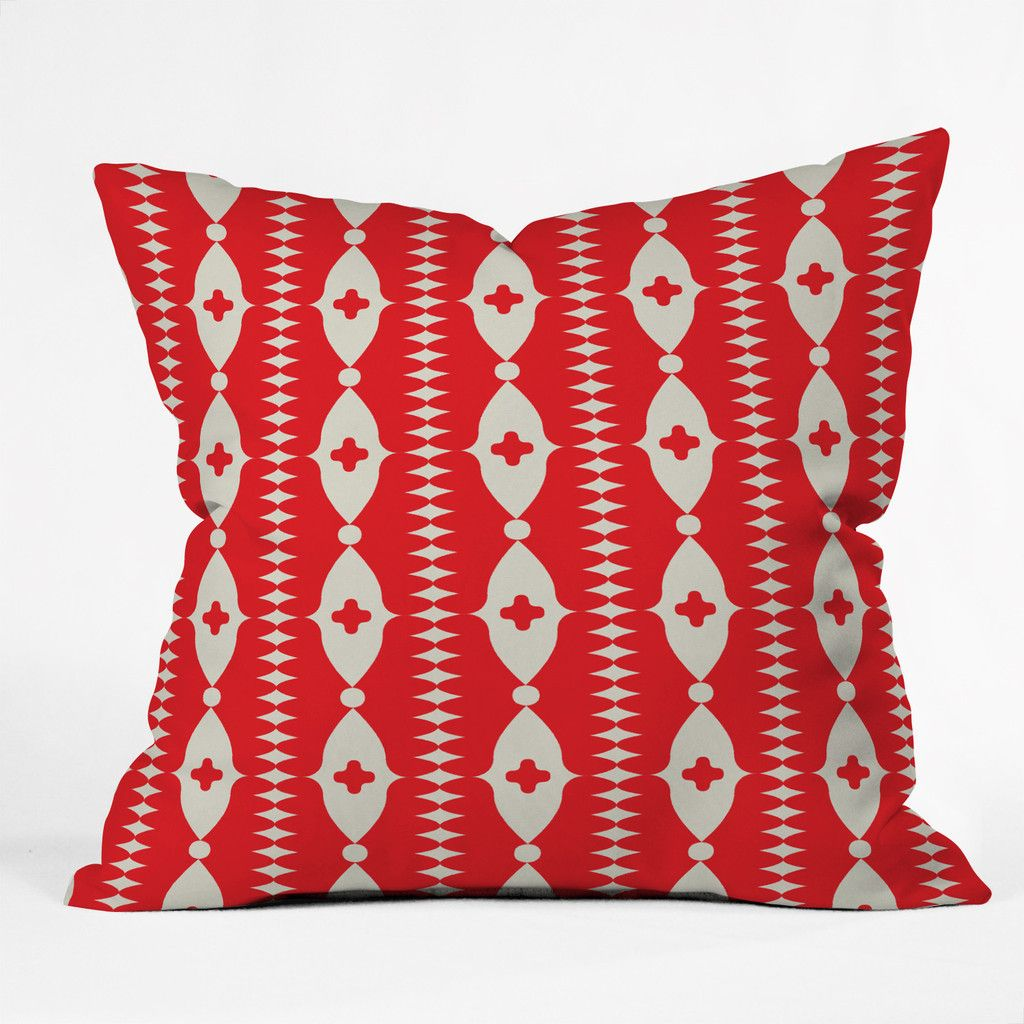 Holli zollinger ribbon throw pillow throw pillows pillows and