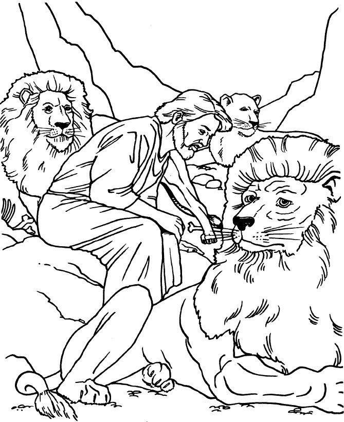 Comunidad Cristiana Charata: Recursos   daniel y los leones ...