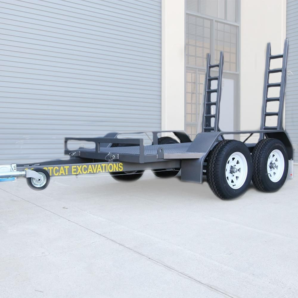 Alltrades All-Tow 2000S 2-Tonne Plant Trailer - 1.61t Capacity, Galvanised
