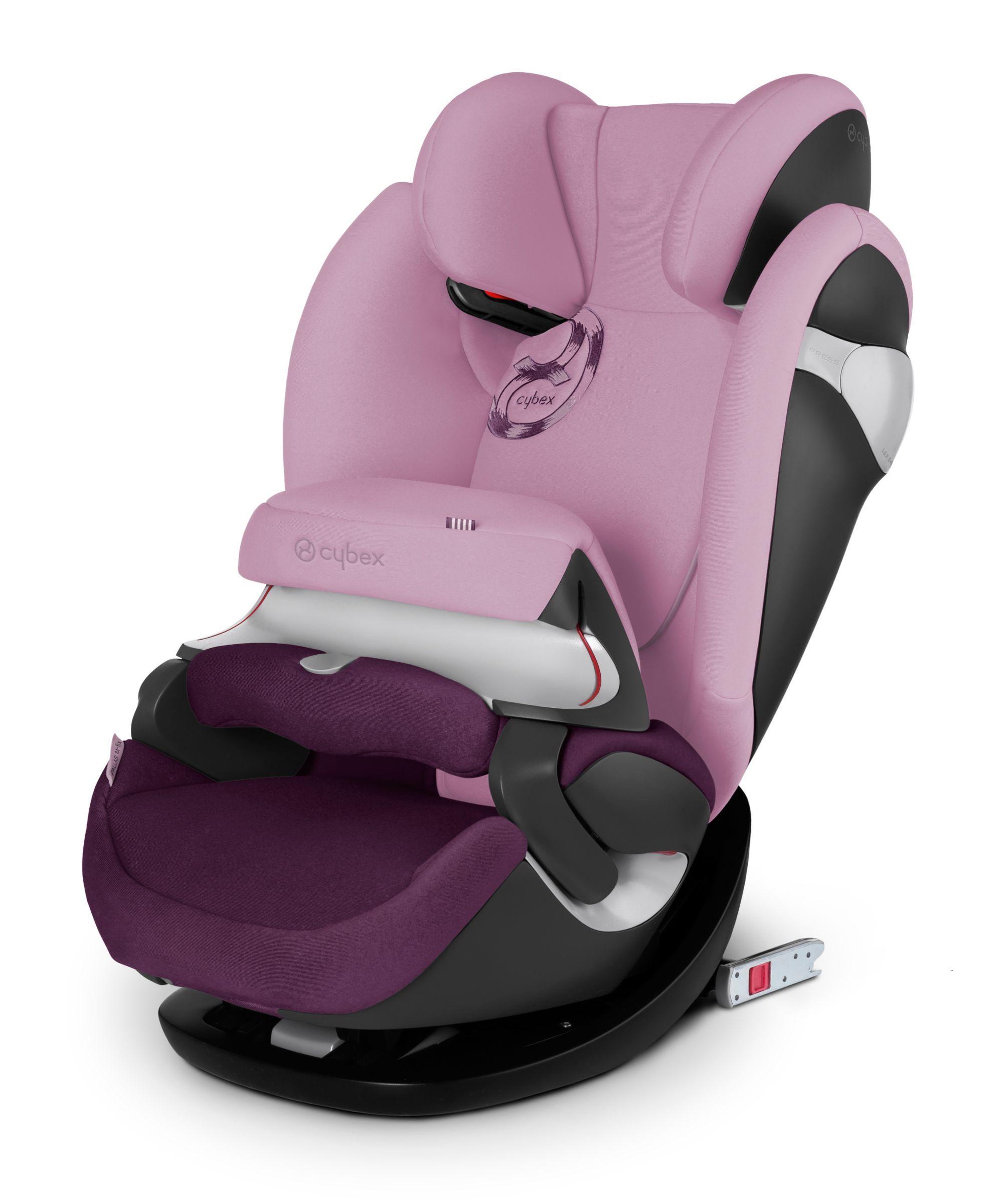 Cybex Pallas M-Fix Highback Booster ISOFIX Car Seat - Princess Pink ...