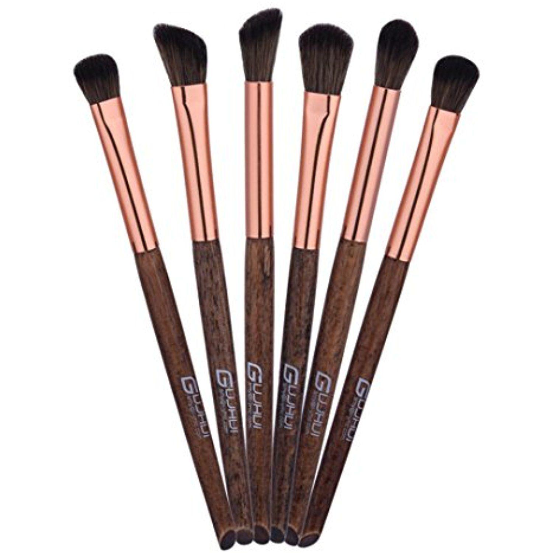 RNTOP 6PCS Makeup Brushes Set Kit Tool Blending Pencil