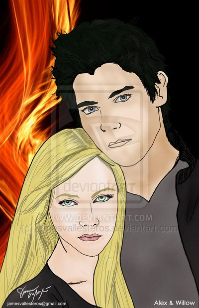 Alex & Willow from The Angel Series by L.A. Weatherly