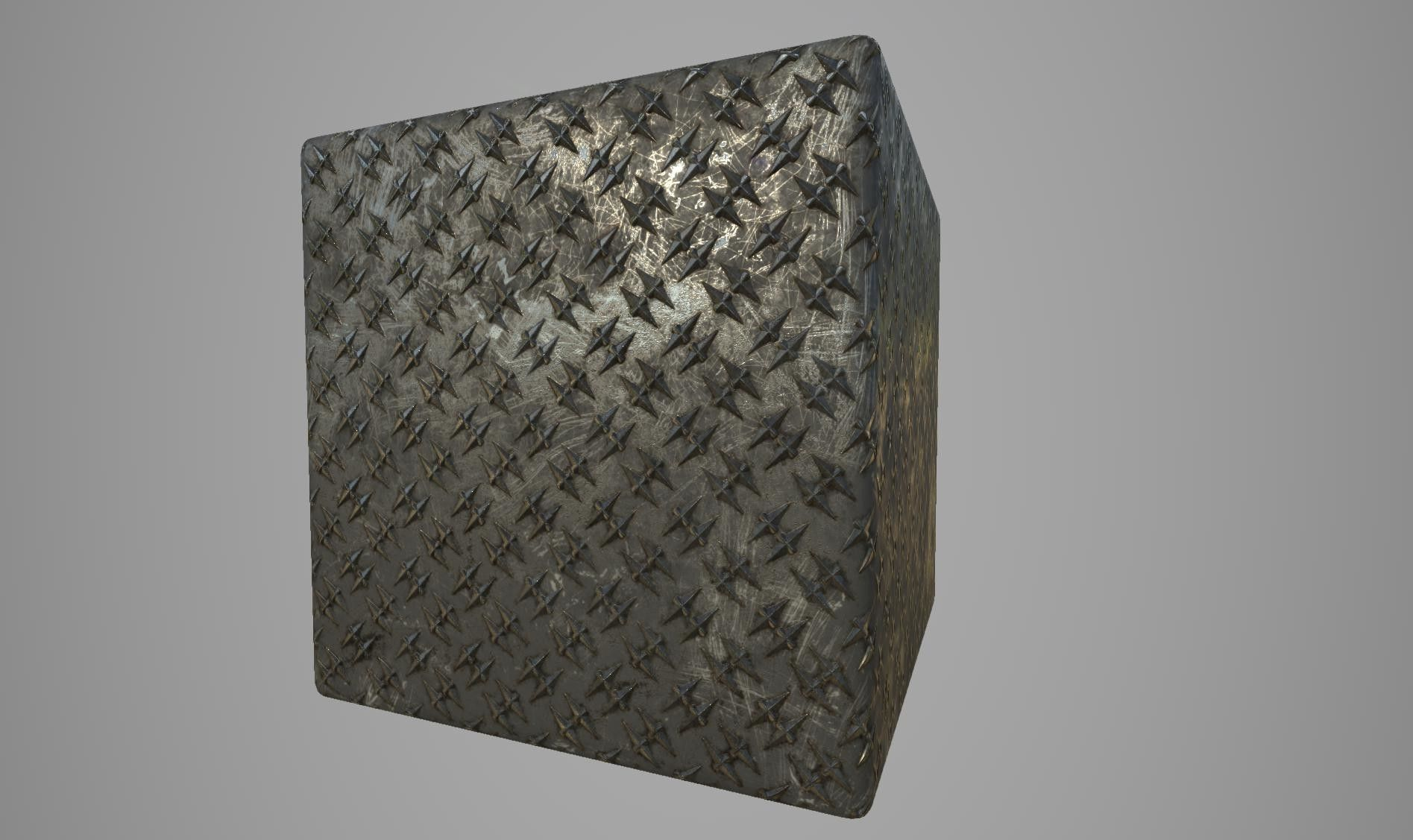 ArtStation - Diamond Plate Metal / Substance Designer, Nestor Carpintero