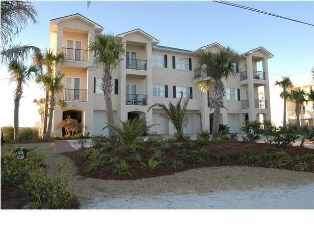 Wow 4 Bedroom 4 Bath Gulf Front Townhome House Rental Florida Real Estate Vacation Rental