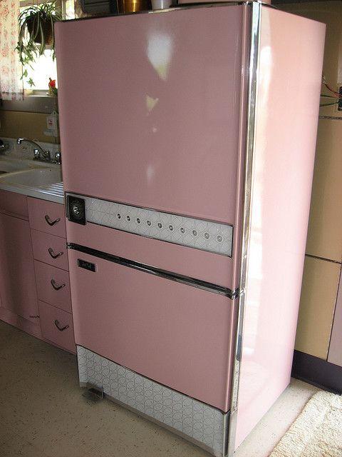Rogersville5 Pink Fridge Pink Kitchen Pink Refrigerator