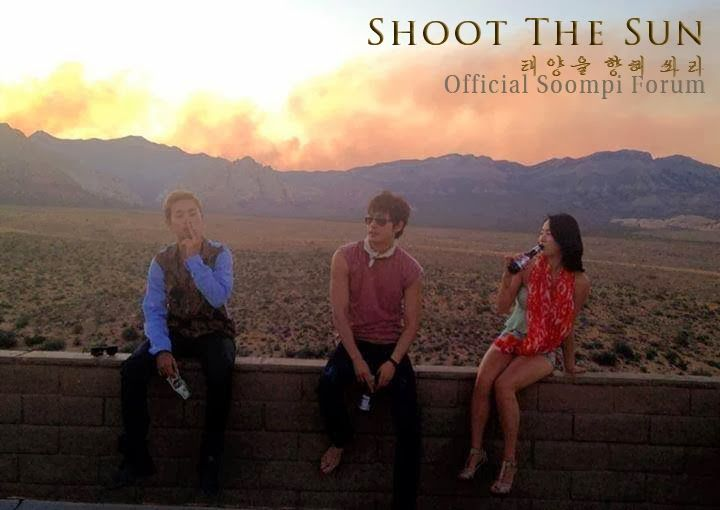 Shoot the Sun 2013 ~ Korean movie...shot in Los Angeles and Las Vegas will be released sometime this year.