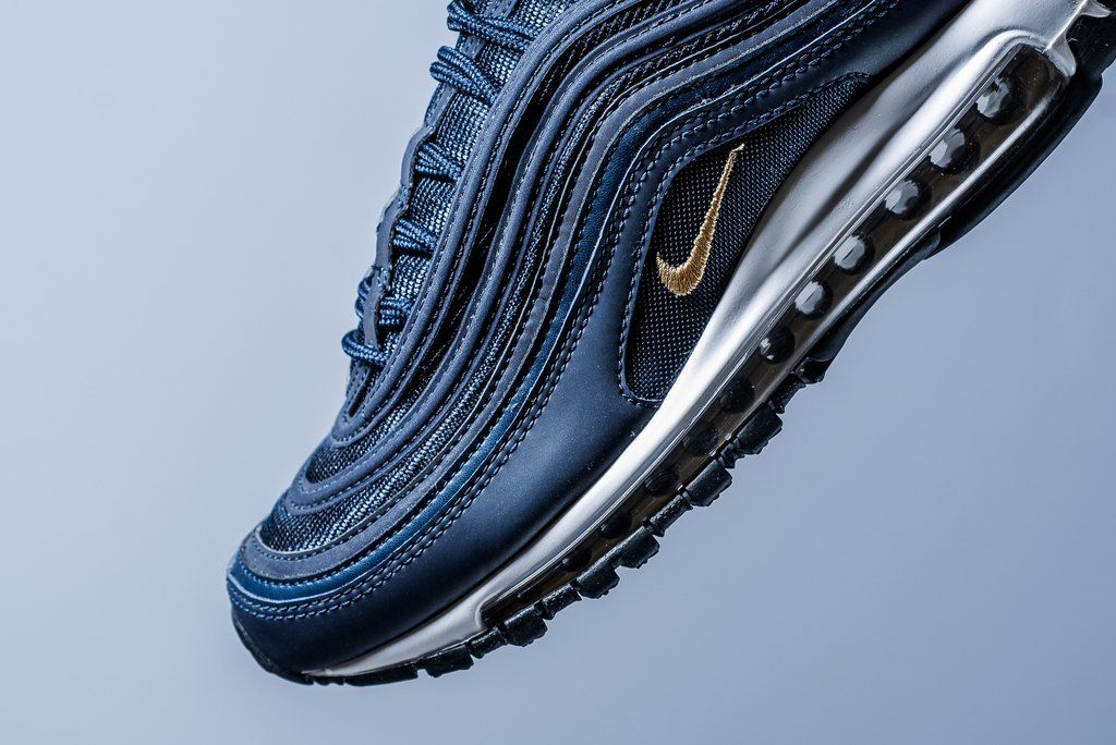 official photos 2981d 69452 Nike Air Max 97 - Midnight Navy/Metallic Gold | Sneaker Game ...