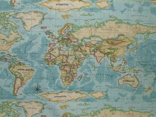 Prestigious atlas world map azure prestigious designer fa https bedroom 2 prestigious atlas world map azure prestigious designer fabric publicscrutiny Choice Image