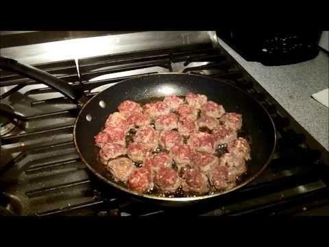 Cheese Stuffed Venison Meatballs | Legendary Recipes - YouTube