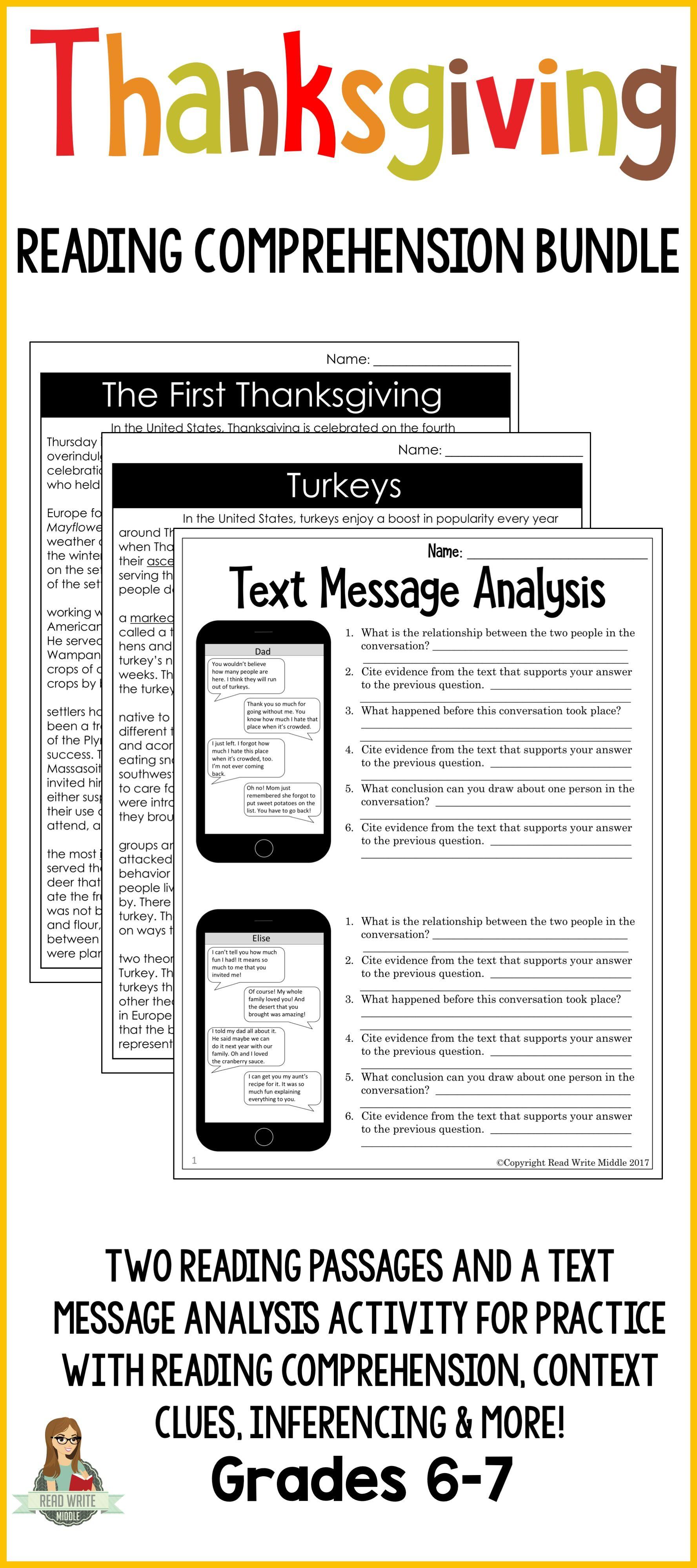 Predownload: Thanksgiving Reading Comprehension Bundle Reading Comprehension Thanksgiving Reading Comprehension Thanksgiving Readings [ 3999 x 1777 Pixel ]