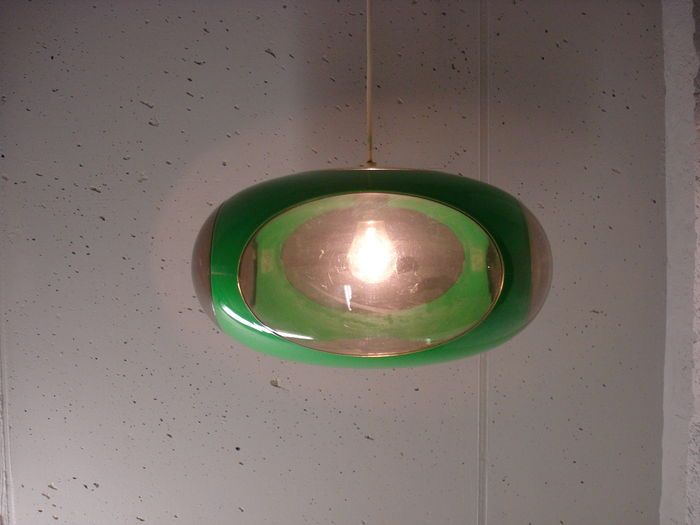 Luigi Colani - space age hanglamp plastic