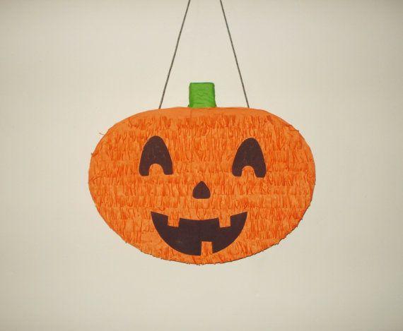Pumpkin Pinata.  Halloween pinata by pinatas20 on Etsy