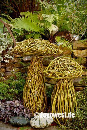 Pilze aus Weidenruten – Karin Urban-NaturalSTyle