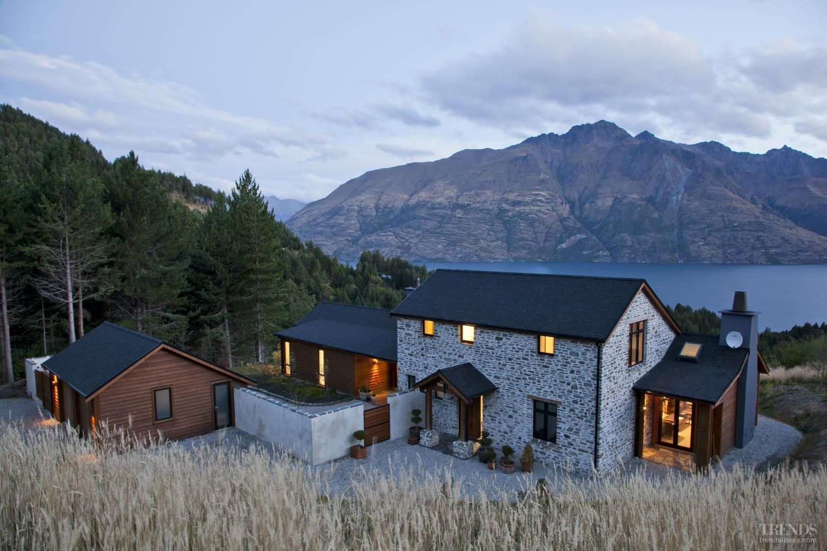 The copper house queenstown google search dream homes for Bathroom design queenstown