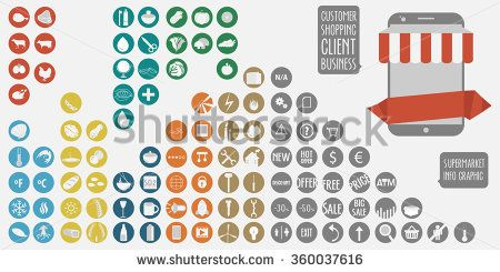 On line business shop #business #startup #stock #sketch #business #background #vector #startup #skyline #sales #info #graphics #button #s