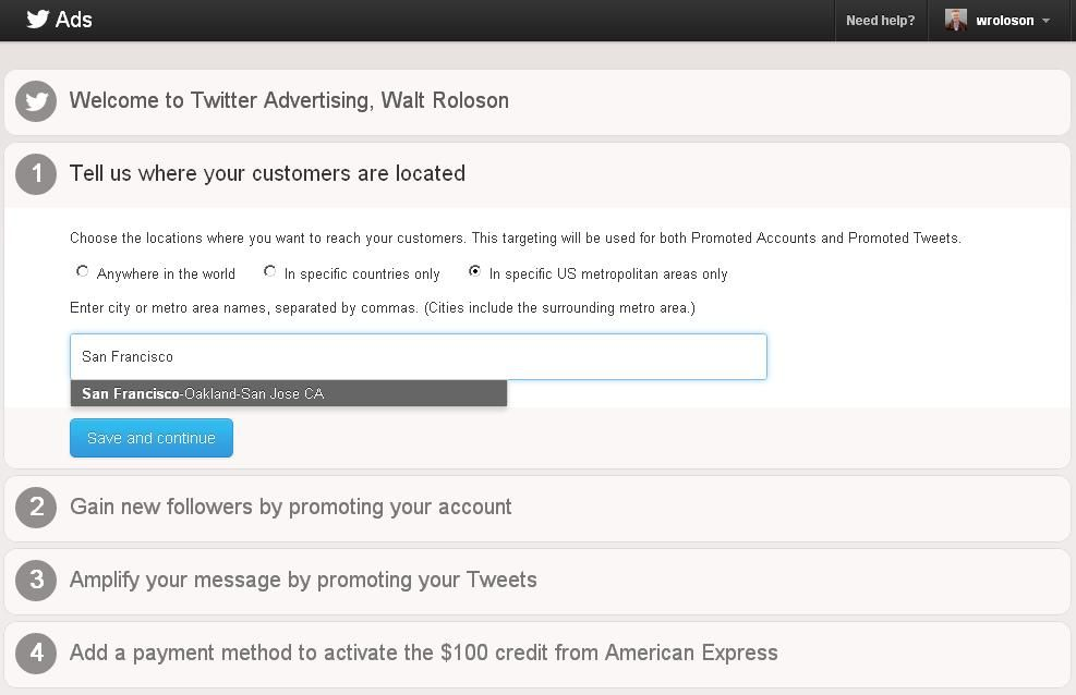 A glimpse of solomo at scale Twitter advertising, Ads