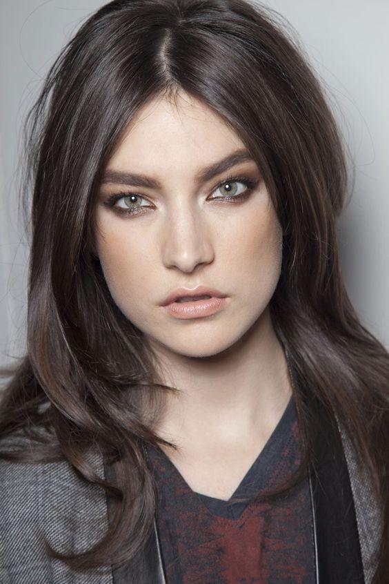 Afbeeldingsresultaat Voor Brown Hair Green Eyes Hair Colour For Green Eyes Ash Hair Color Hair Inspiration Color