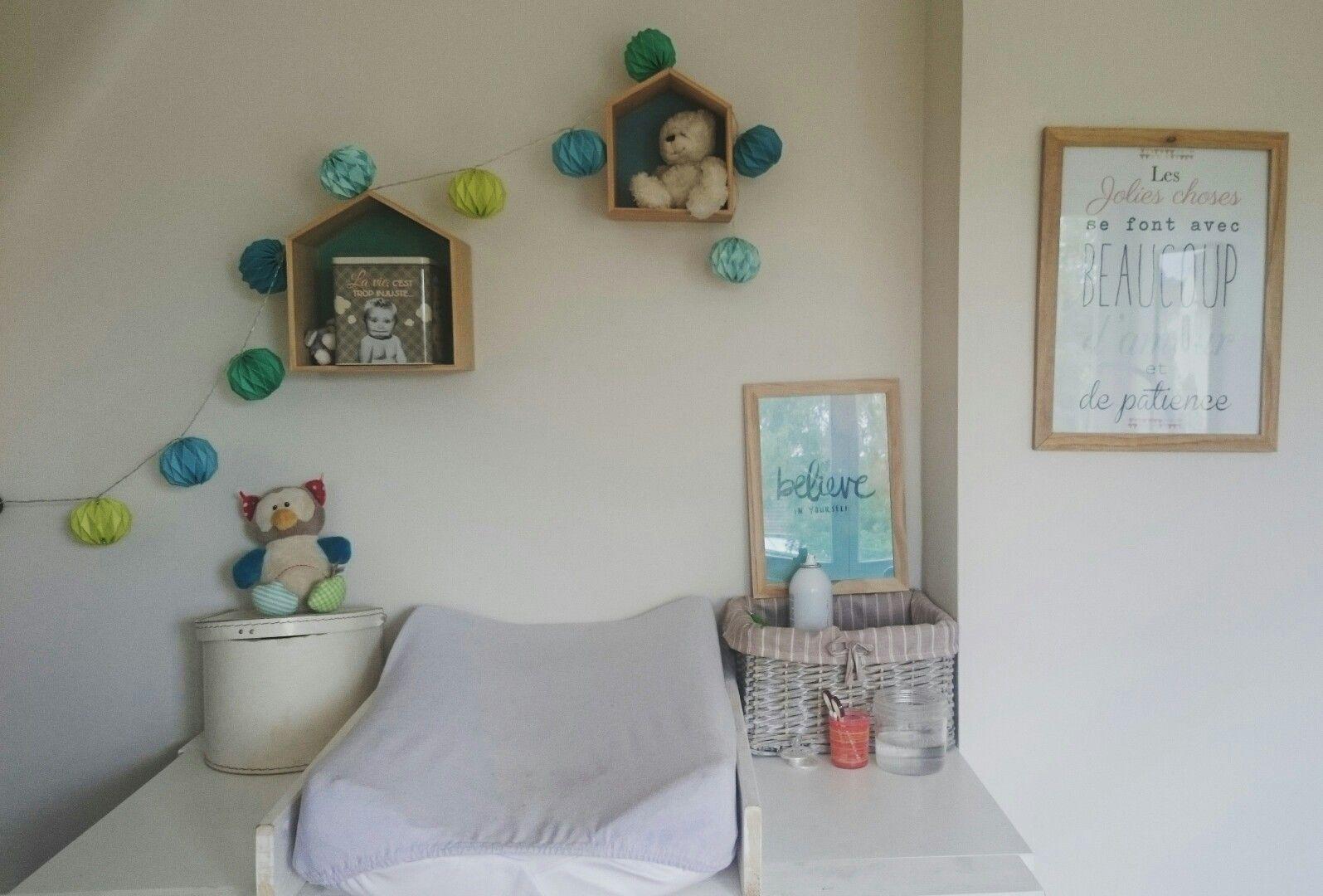 La chambre du Ptit Sacha - deco chambre bébé garçon - room boy