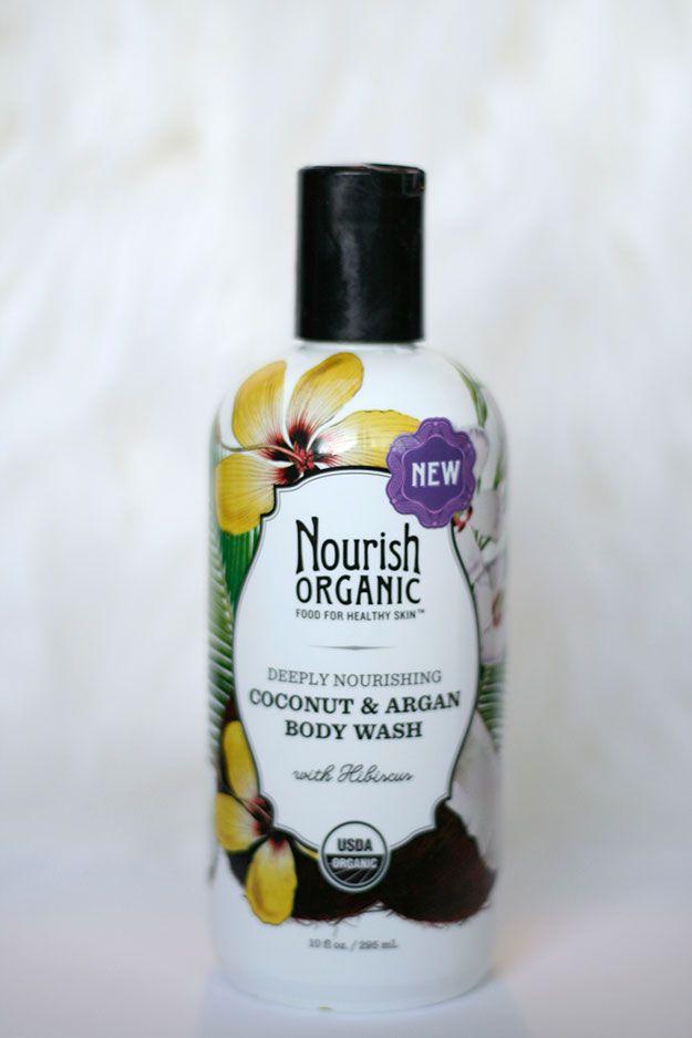 Product Review: Nourish Organic, Coconut & Argan Body Wash