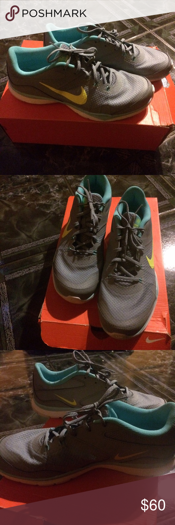 Women's Nike flex trainer 5 Nike flex, Gray shoes and Athletic shoes