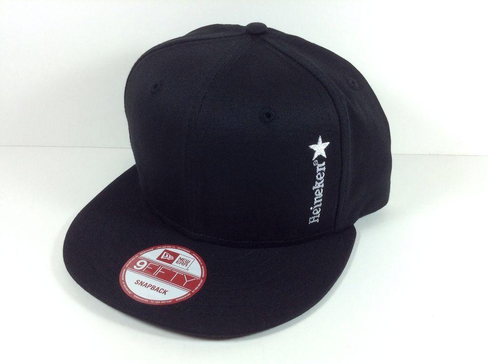 Heineken Beer New Era Hat Snapback 9fifty Black Skate BMX Surf Skateboard  New!!!  NewEra  heineken  hat  skateboard  9fifty a9220254b8c