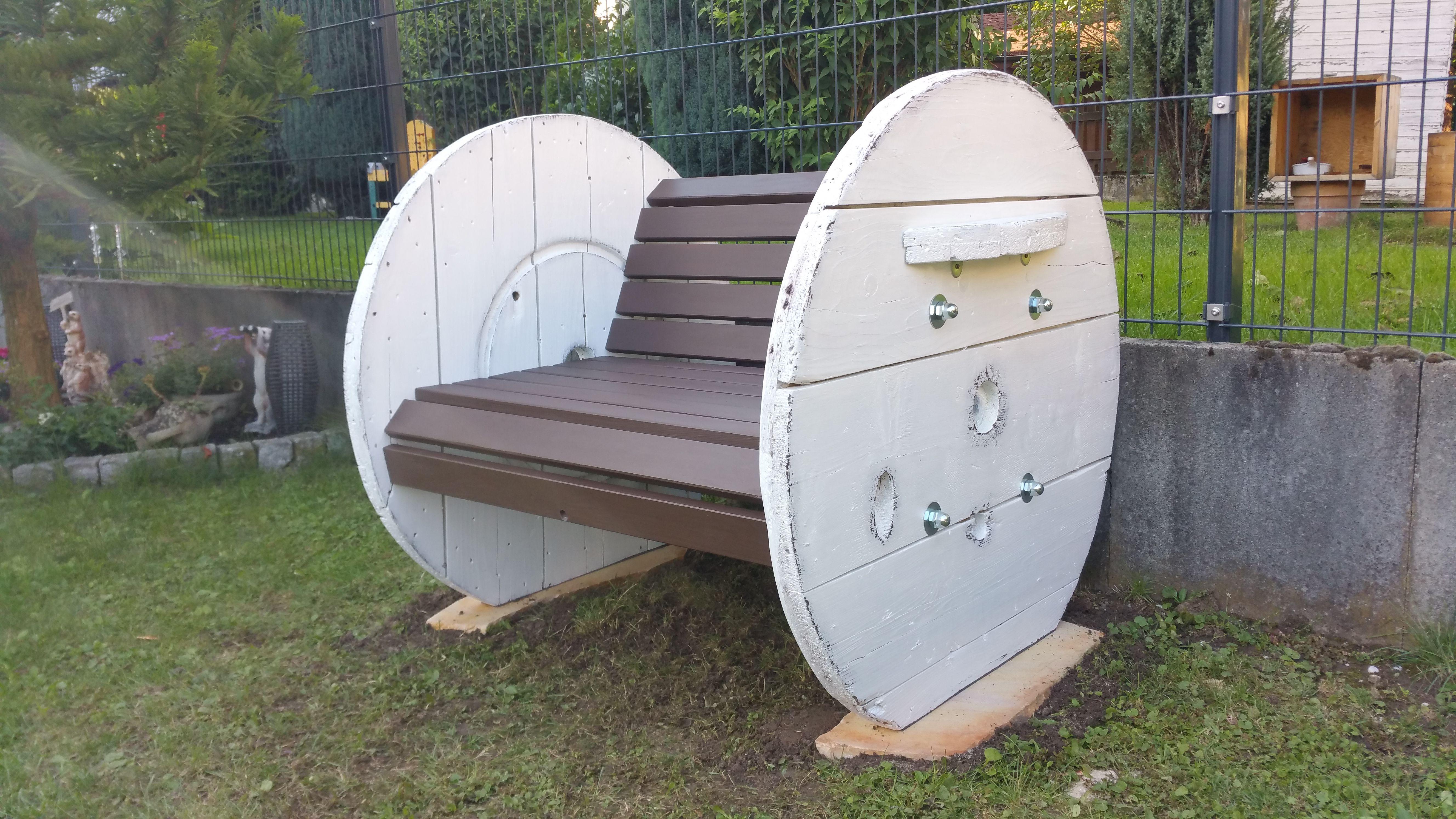 Cable Spool Kabeltrommel Gartenbank Im Farbmix Decor Outdoor Decor Outdoor