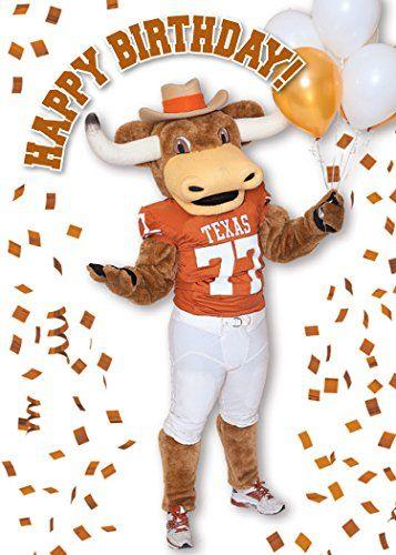 Texas Longhorns Birthday Greeting Cards Set Of 3 0 Jpg 357 500