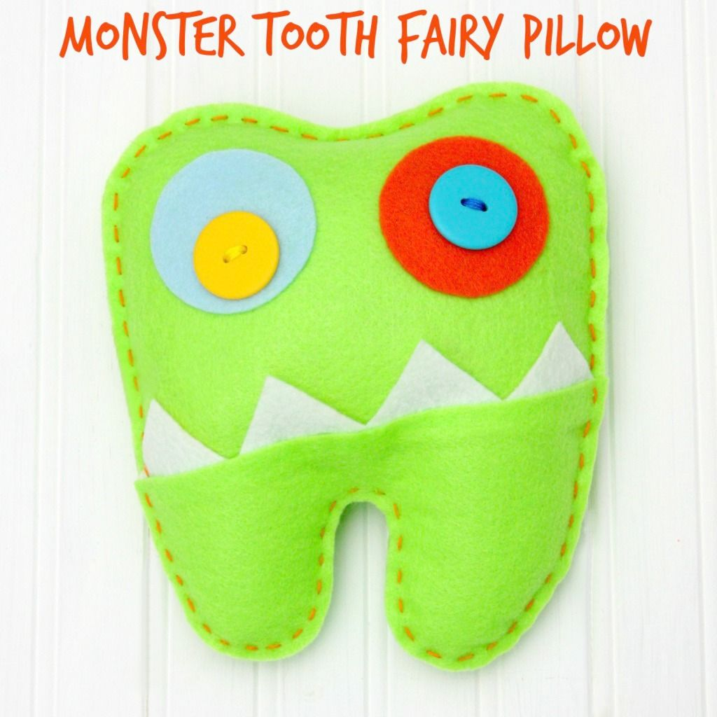 free pattern and directions to sew a tooth fairy pillow sew a