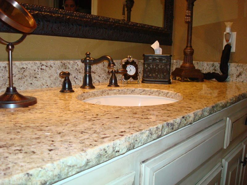 Solid Surface Countertops Ideas Kitchen Pinterest Solid - Bathroom backsplash ideas granite countertops