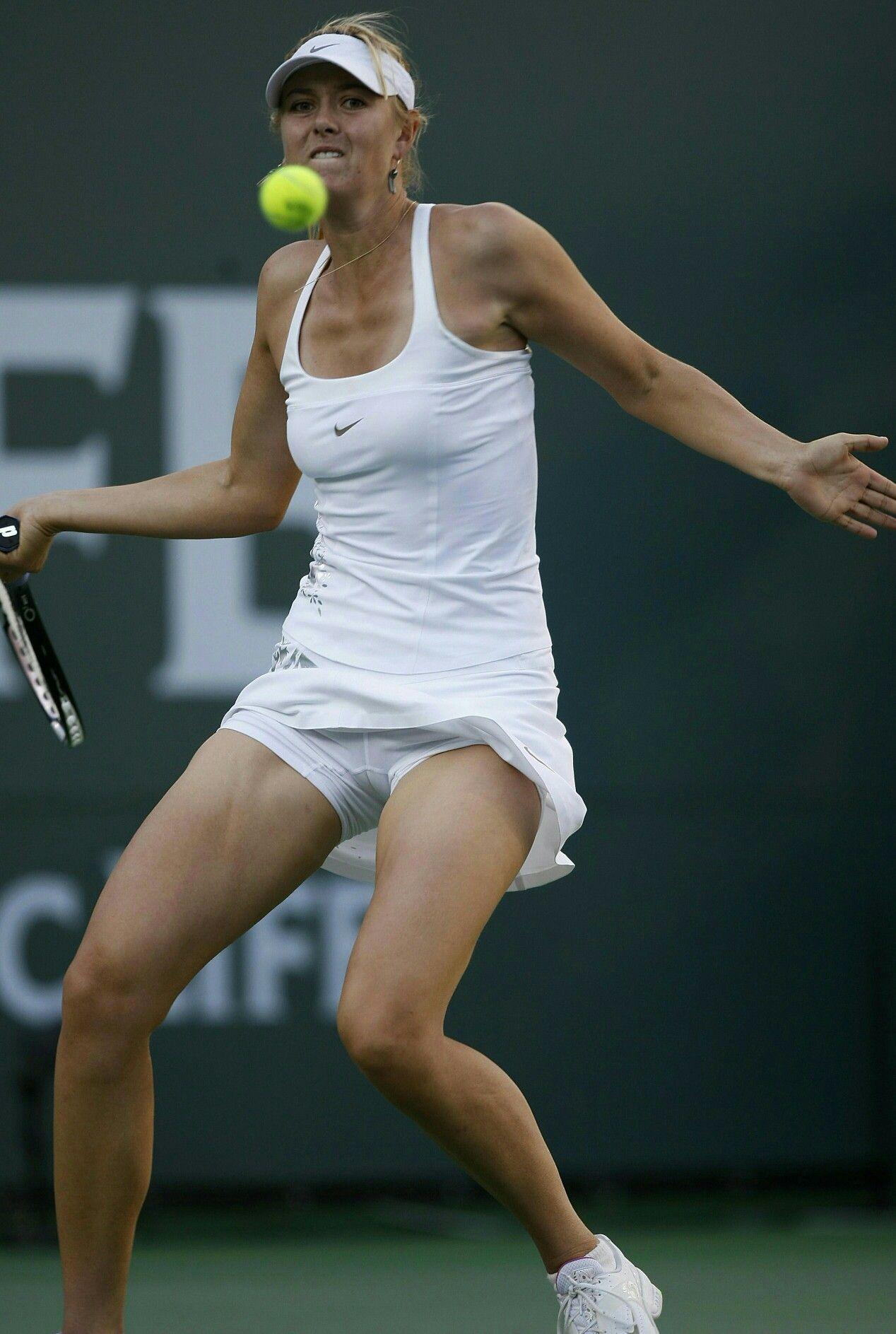 Tennis Women Players - Upskirt and underwear peeks 114
