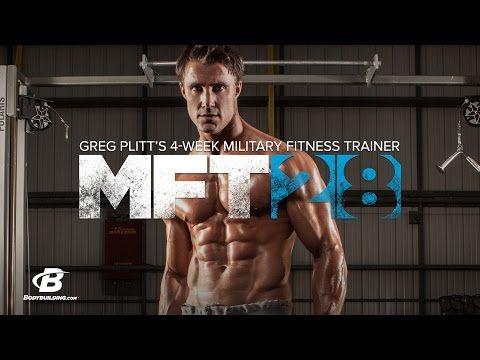 MFT28 | Greg Plitt's 4-Week Military Fitness Training Program
