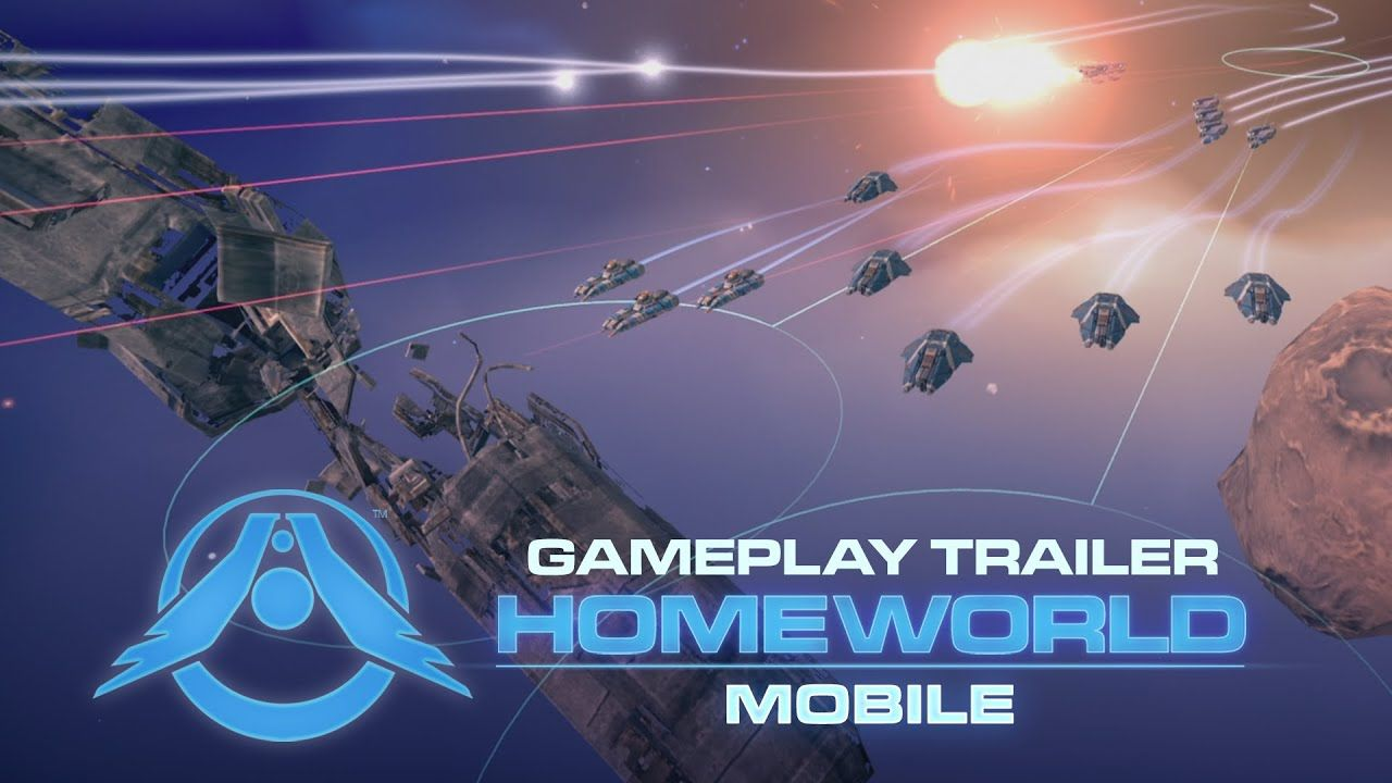 Homeworld Mobile Gameplay Trailer in 2020 Real time