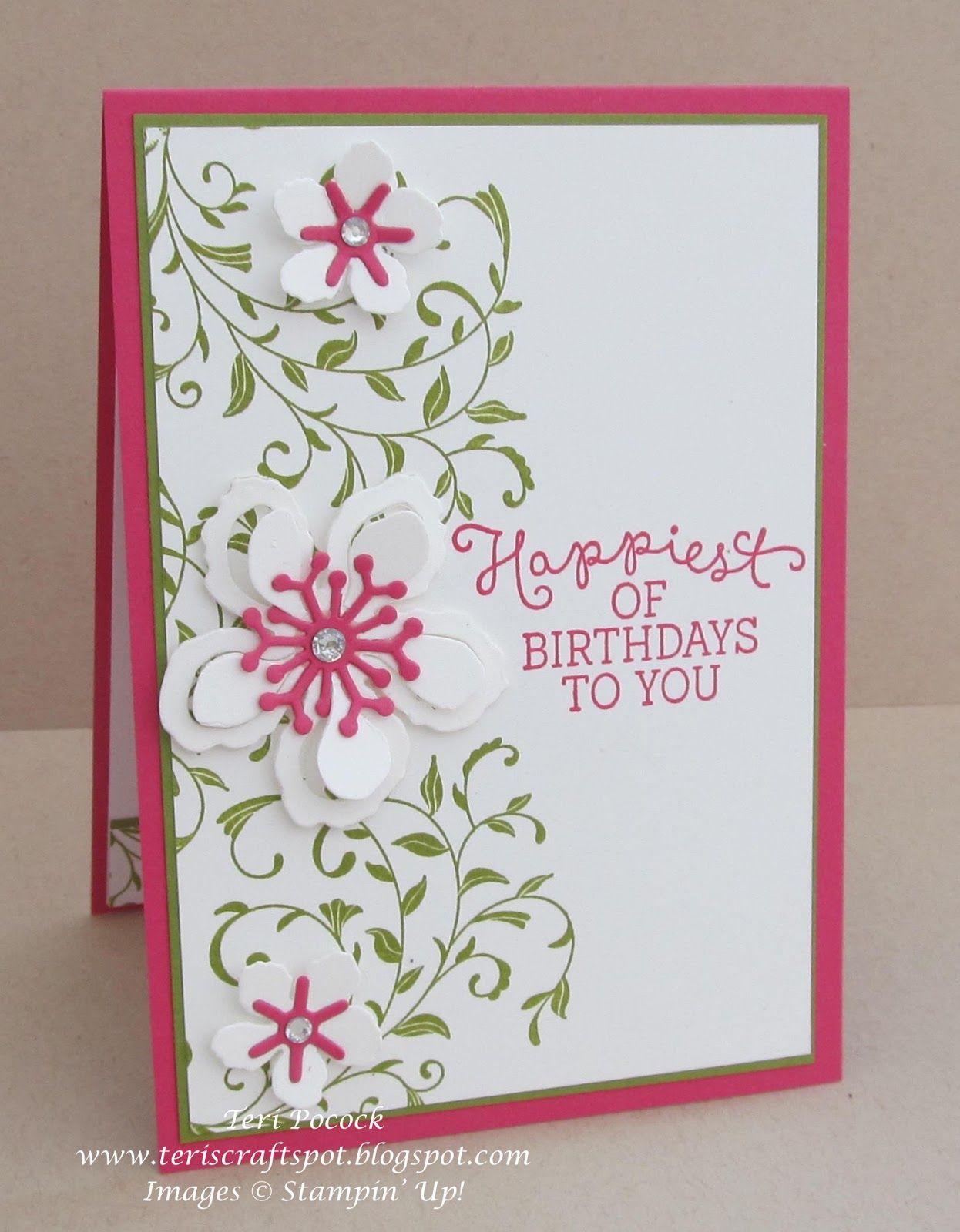 Beautiful botanical birthday card birthdays cards and card ideas beautiful botanical birthday card kristyandbryce Gallery