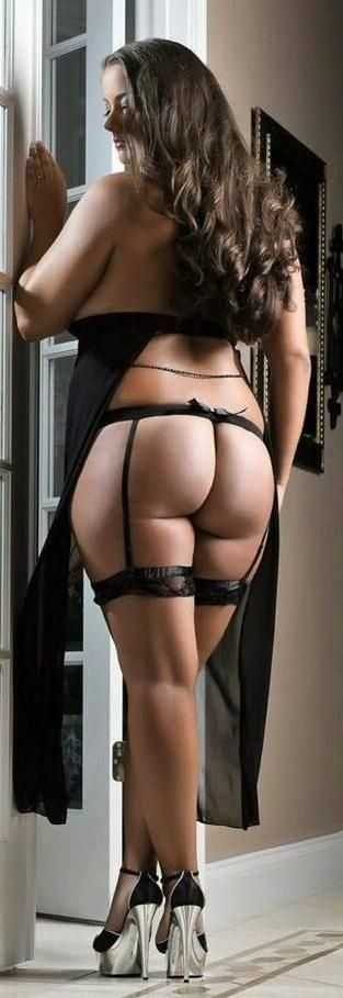 big ass garter belt