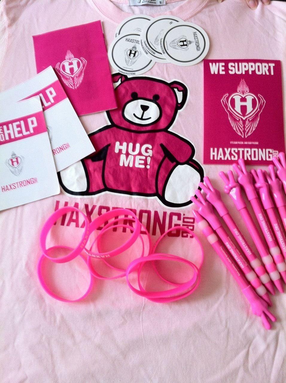 HAXSTRONG merchandise