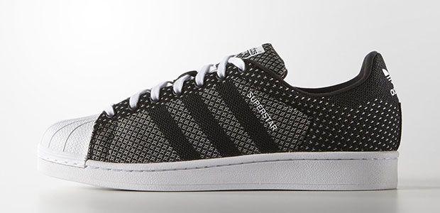 Adidas Originals Stan Smith / Superstar en tissu Weave | Chaussure ...