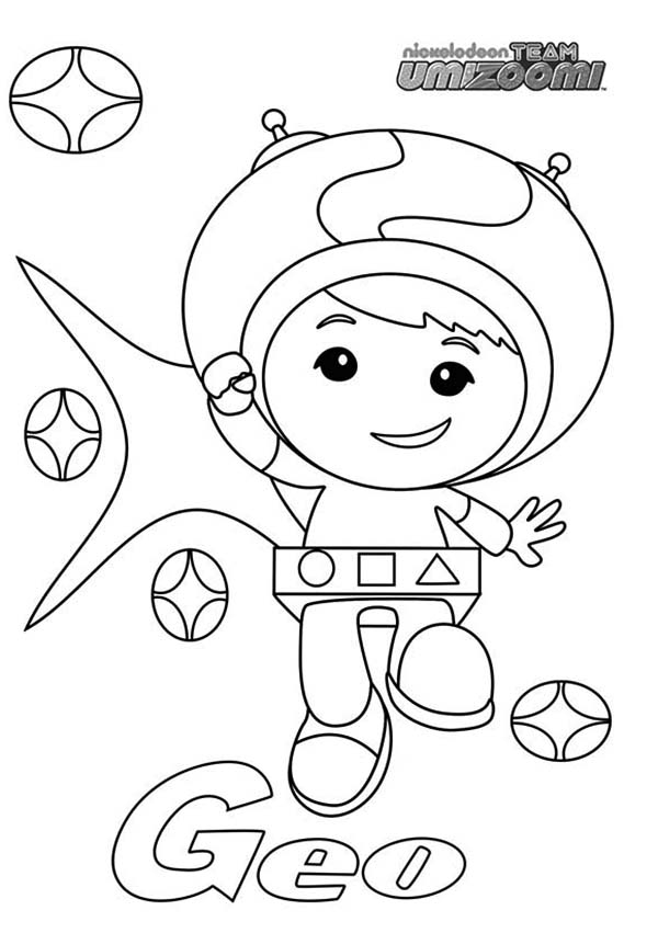 Geo From Team Umizoomi Coloring Page Color Luna Coloring Pages Coloring Pages Inspirational Printable Coloring Pages