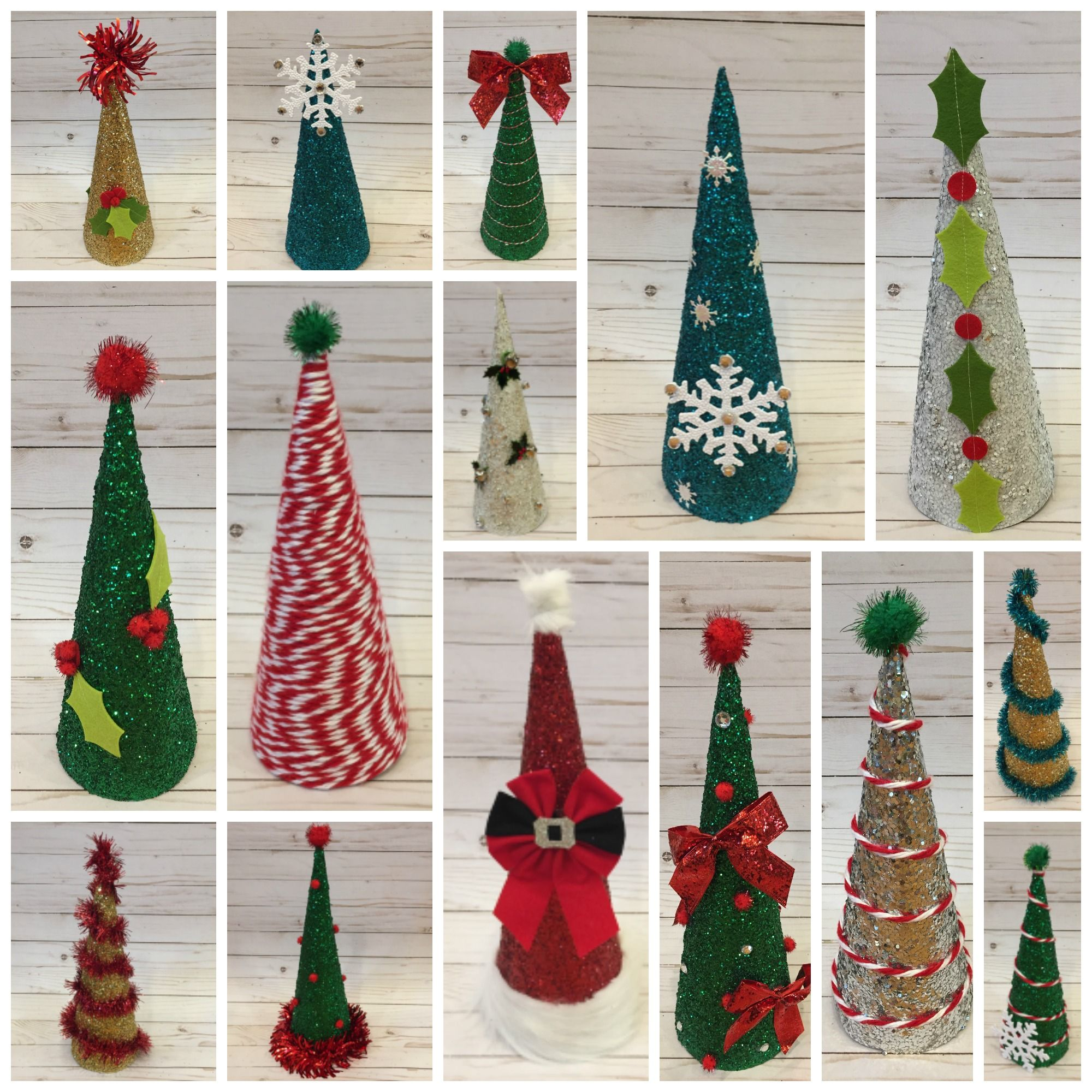 15 Cone Christmas Tree Designs To Make