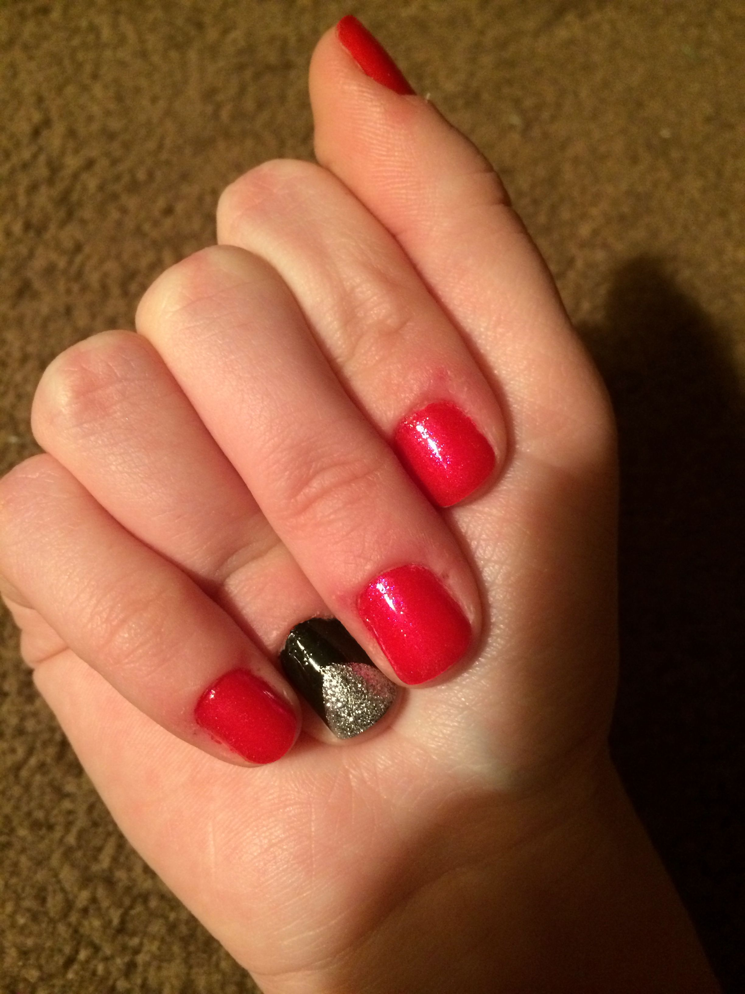 My very own nails!!! Victoria\'s Secret (I\'m not an angel) polish ...