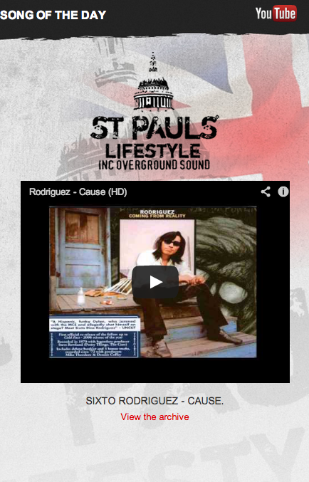 Song Of The Day is 'Cause' by Sixto Rodriguez for his Birthday. Happy Birthday Sixto! We hope you have had a brilliant day. Songotd is headlining the site here: http://www.stpaulslifestyle.com/ #songotd #sixto #rodriguez #cause #birthday #happybirthday #brilliant #listen #song #artist #special #songoftheday #stpaulslifestyle