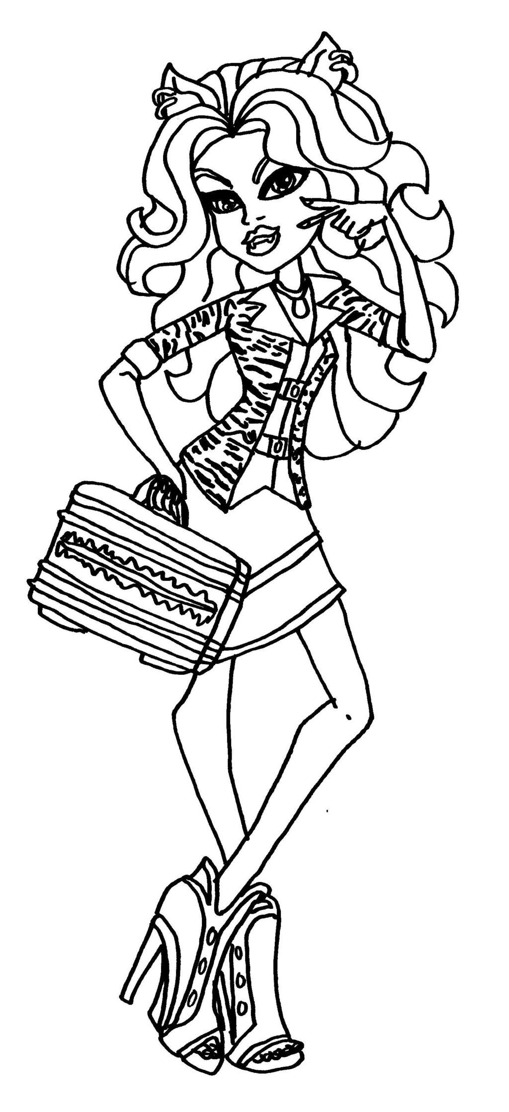 howleen 13 wishes coloring pages - photo#24