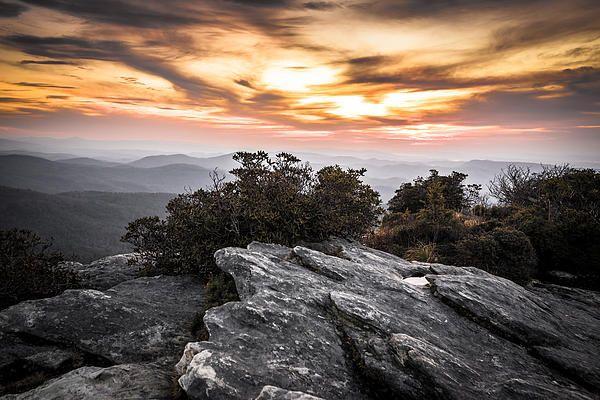 Artist Point Arkansas Sunset
