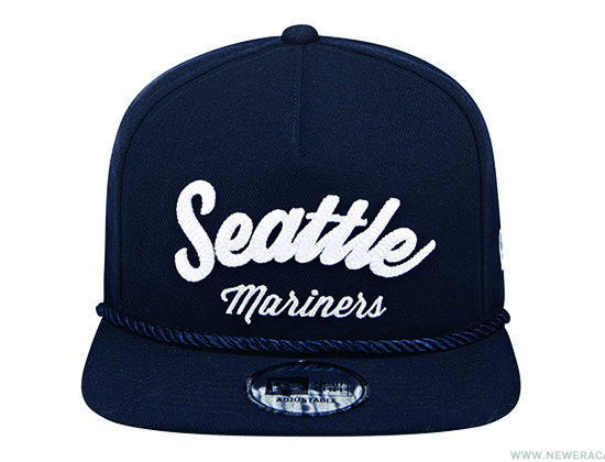 Seattle Mariners City Golfer Snapback Cap by NEW ERA x MLB ... 9aaffa16d7b