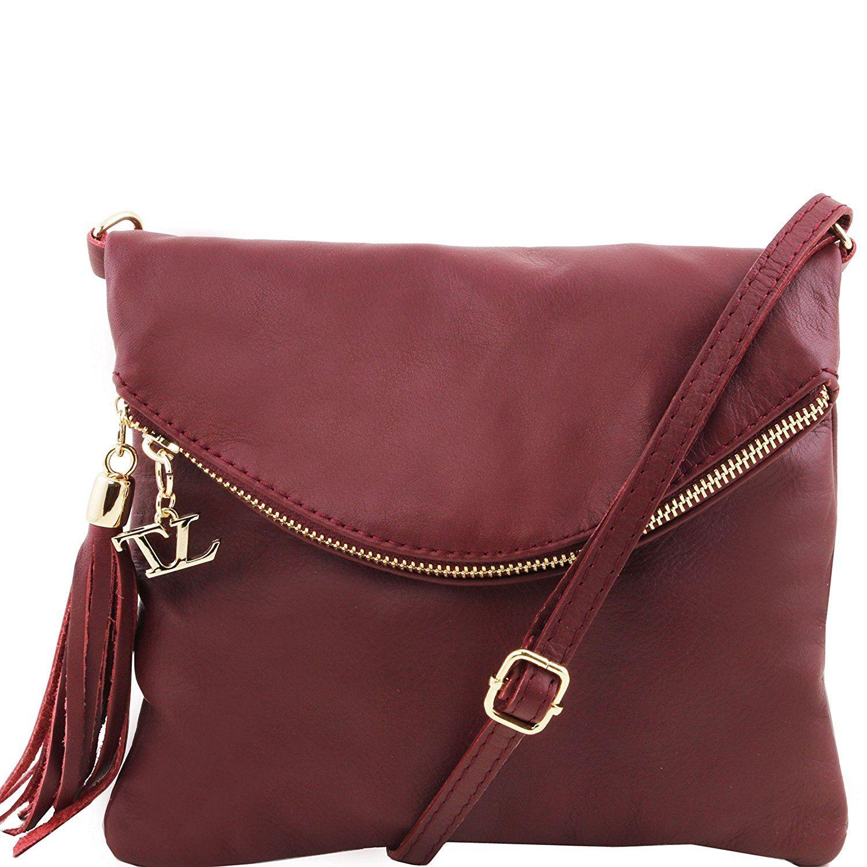 ... Tuscany Leather TL Young bag - Shoulder bag with tassel detail Leather  shoulder bags - ... d9f03e6d23cfc