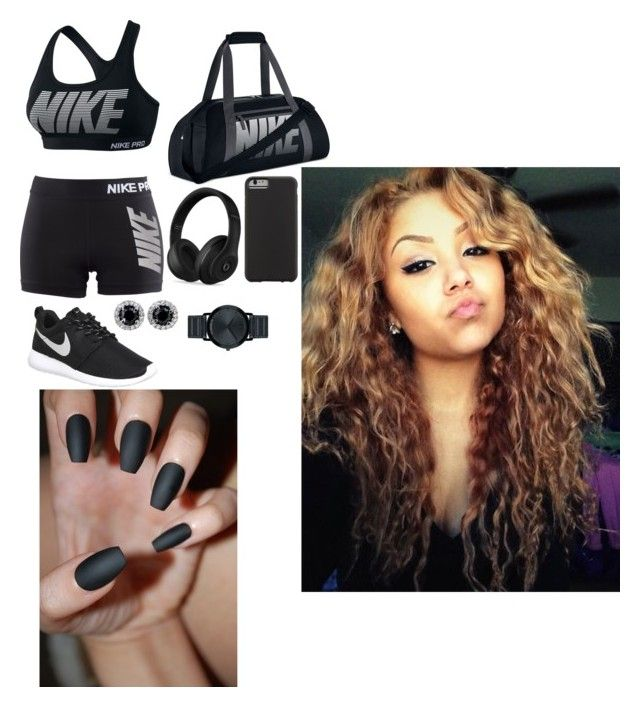 """""""Untitled #160"""" by bbysixteen on Polyvore featuring NIKE, Beats by Dr. Dre, Case-Mate and Movado"""
