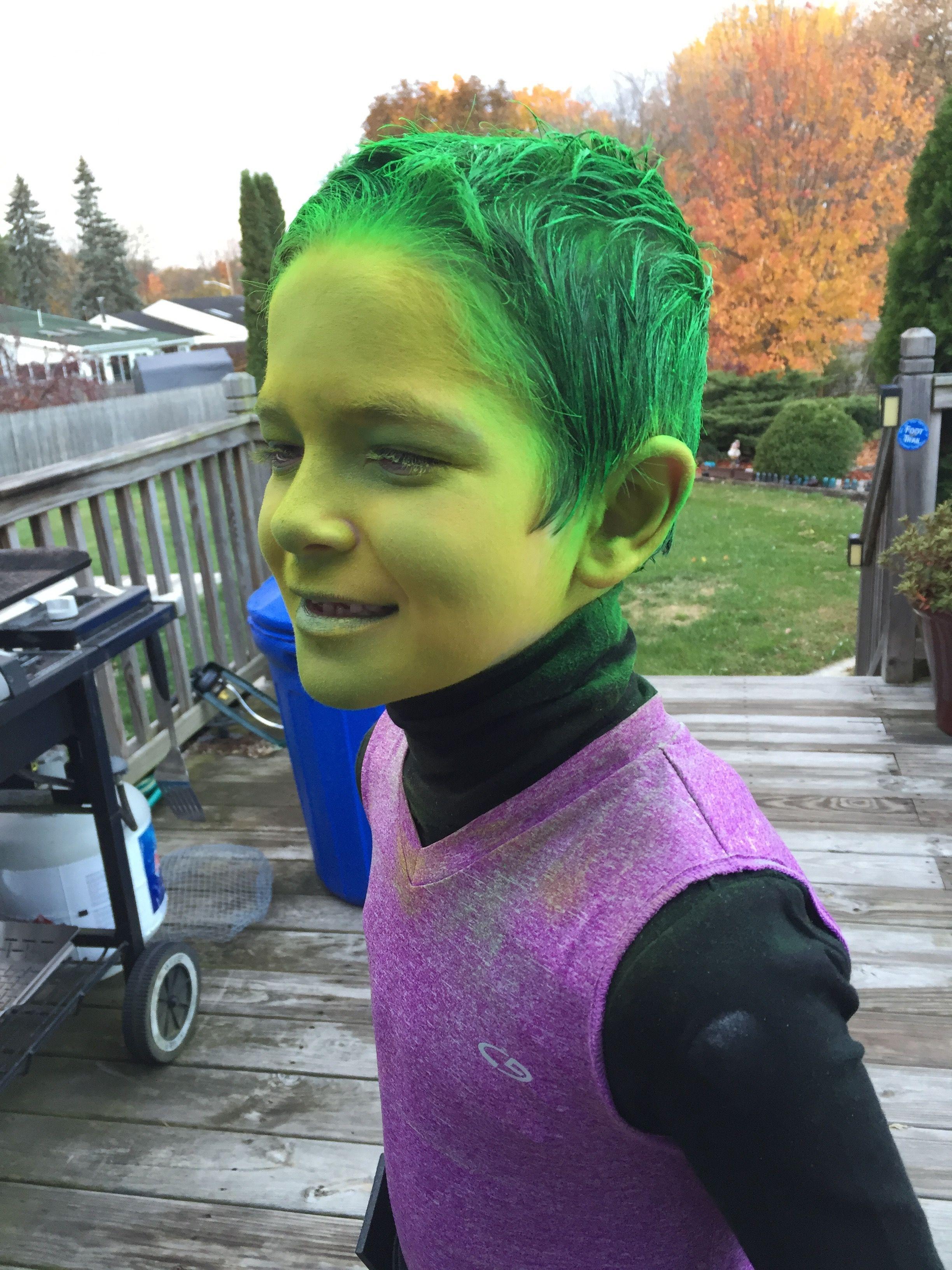 beast boy costume | teen titans cosplay in 2018 | pinterest