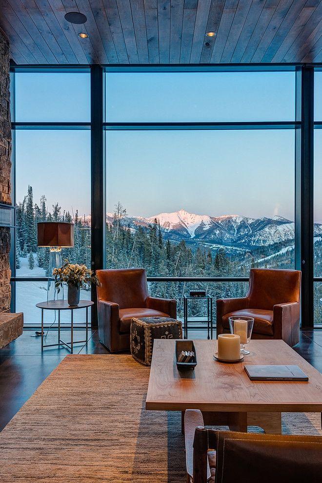Modern Mountain Retreat By Pearson Design Group Homeadore House Design Home Mountain Modern