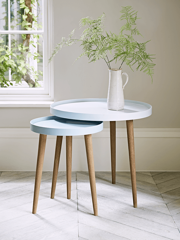 Best New Lina Side Tables Blue Side Table Living Room Side 640 x 480