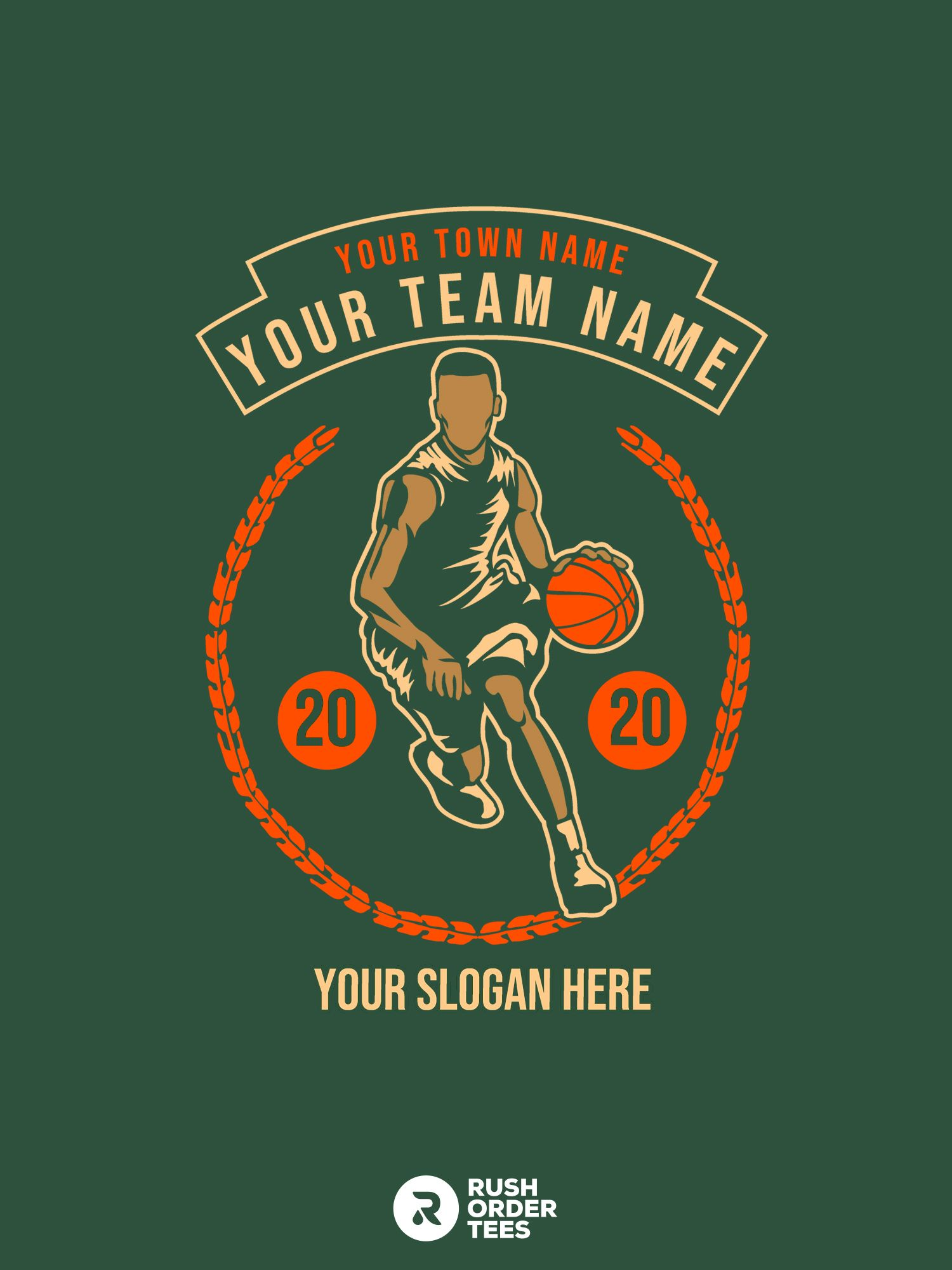 High School Basketball T Shirt Designs That Are Fully Customizable In 2020 Basketball T Shirt Designs Custom Tshirt Design Custom Shirts